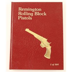 Remington Rolling Block Pistols Book