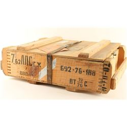 Case of 7.62 x 54R Ammo