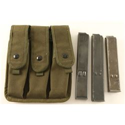 UZI 9MM Mags & Bag