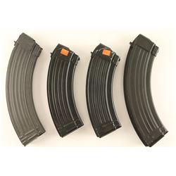 Lot of 4 AR-15 Magazines