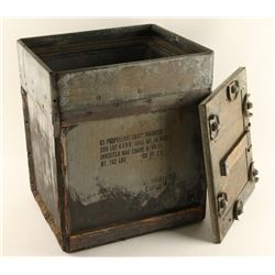 Vintage Insulated Military Crate