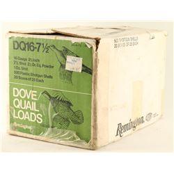 Case of Remington Dove/Quail Loads
