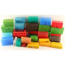 Large Lot of Plastic Cartridge Holders
