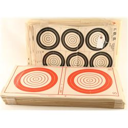 Lot of Paper Targets