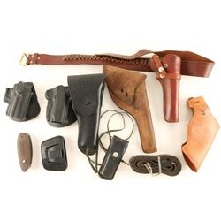 Large Lot of Holsters