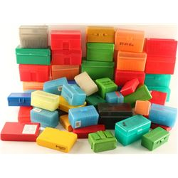 Large Lot of Plastic Ammo Boxes