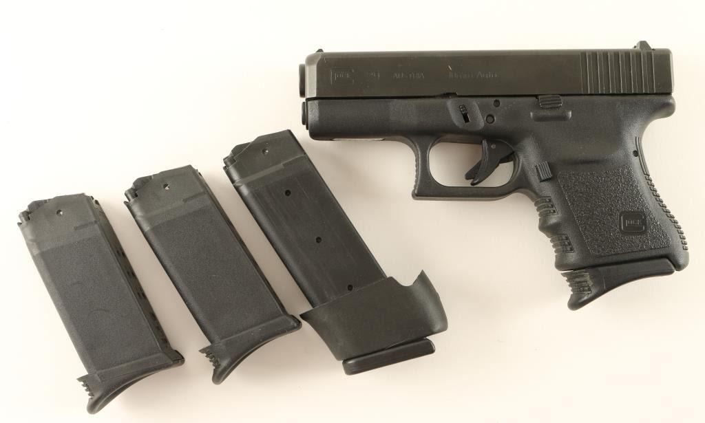 Glock 29 10mm SN: EGN176US
