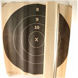 Box Lot of Long Range Targets