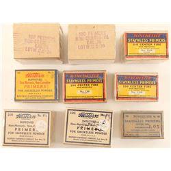 Lot of Vintage Primers