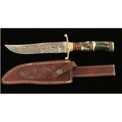 "12 1/2"" Custom Hunting Knife"