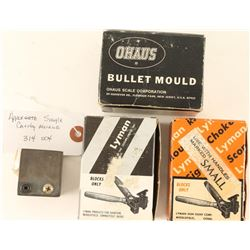 Lot of 4 Moulds