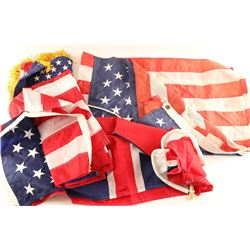 Lot of American Flags & Banner