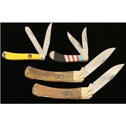 Lot of 4 Pocket Knives
