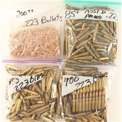 Lot of Brass, Reloads and Bullets