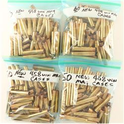 Lot of 458 Win Mag Brass