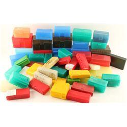 Lot of Plastic Ammo Cases