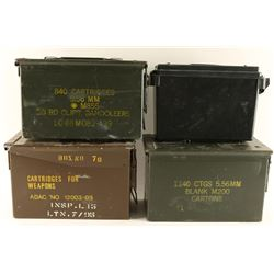 Lot of Ammo Cans