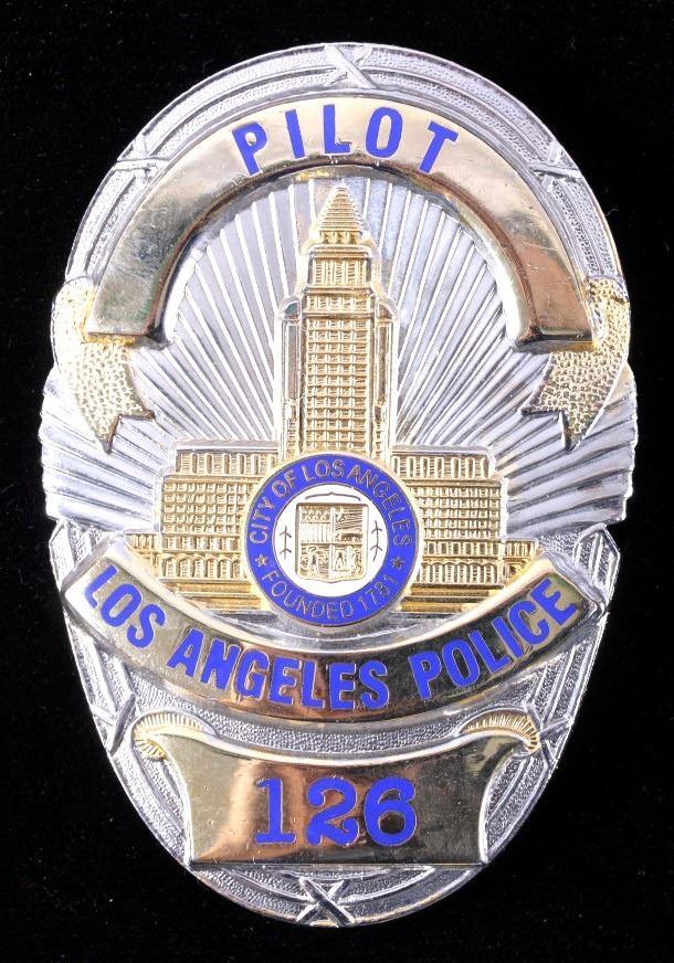 Badge Los Angeles Police