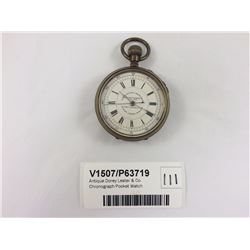 Antique Dorey Lester & Co. Chronograph Pocket Watch