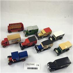 Group of Matchbox Vehicle's Inc. Kiwi Boot Polish