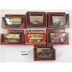 Group of Matchbox Vehicle's Inc. Red Crown Gasoline