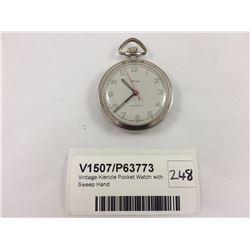 Vintage Kienzle Pocket Watch with Sweep Hand