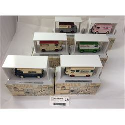Set of Six Matchbox 'A Taste of France' Series Models