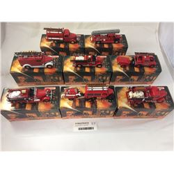Group of Matchbox Fire Engine Series Models Inc. 1950 Ford