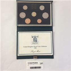 1985 United Kingdom Proof Coin Set