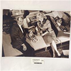 Vintage Large Photo of Thunderbirds Creators (from Original)
