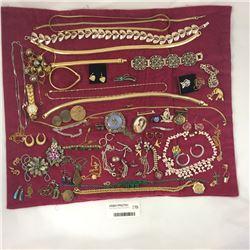 Cloth Wrap of Costume Jewellery