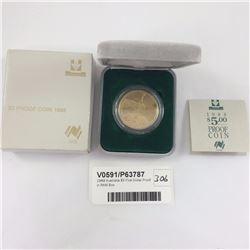1988 Australia $5 Five Dollar Proof in RAM Box