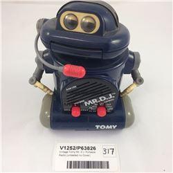 Vintage Tomy Mr. D.J. Portable Radio (untested no Cover)