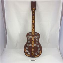 South Waikato Country Music Club Jnr Artist Guitar Trophy