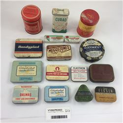 Group of Vintage Tins Inc. Medical