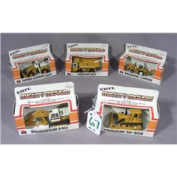 FIVE ERTL MIGHTY MOVERS
