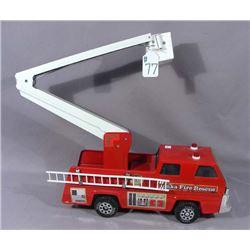 TONKA 1980'S FIRE RESCUE SNORKEL UNIT 3 FIRE TRUCK