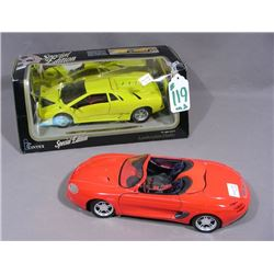TWO MAISTO 1:18 SPORTS CARS