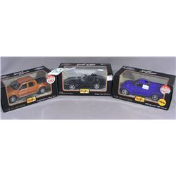 THREE MAISTO SPECIAL EDITION 1:24 SCALE DIE CAST METAL