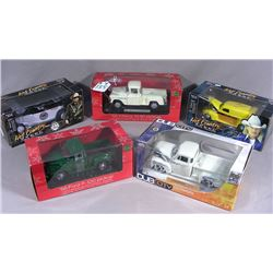 GROUP OF FIVE MISC. DIE CAST VEHICLES