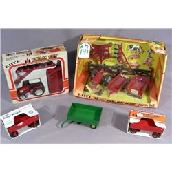 GROUP OF ERTL FIVE PIECE FARM SETS