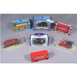 SEVEN 1:43 SCALE DIE CAST FOREIGN VEHICLES