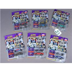 SIX JOHNNY LIGHTNING CHAMPIONS COLLECTION DIE CAST CARS