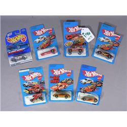 SEVEN HOT WHEELS RACE CARS