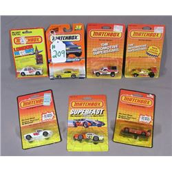 SEVEN 1:64 SCALE MATCH BOX RACE CARS