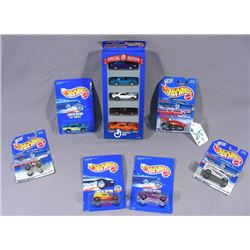 SEVEN HOT WHEELS SPECIAL EDITION DIE CAST CARS