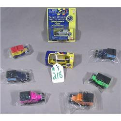 EIGHT DIE CAST MATCH BOX & MOTOR MAX CARS