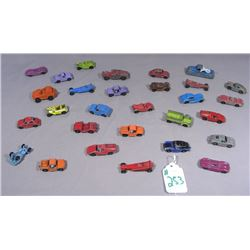 29 PIECE TOOTSIE DIE CAST MINIATURE CARS