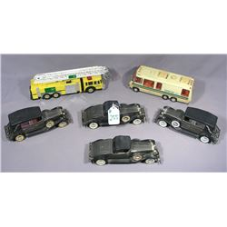 BOX LOT OF MISC. CARS AND TRUCKS