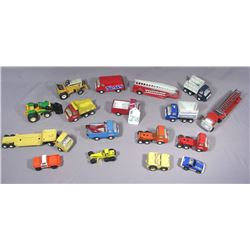 GROUP OF VINTAGE TONKA DIE CAST METAL TRUCKS